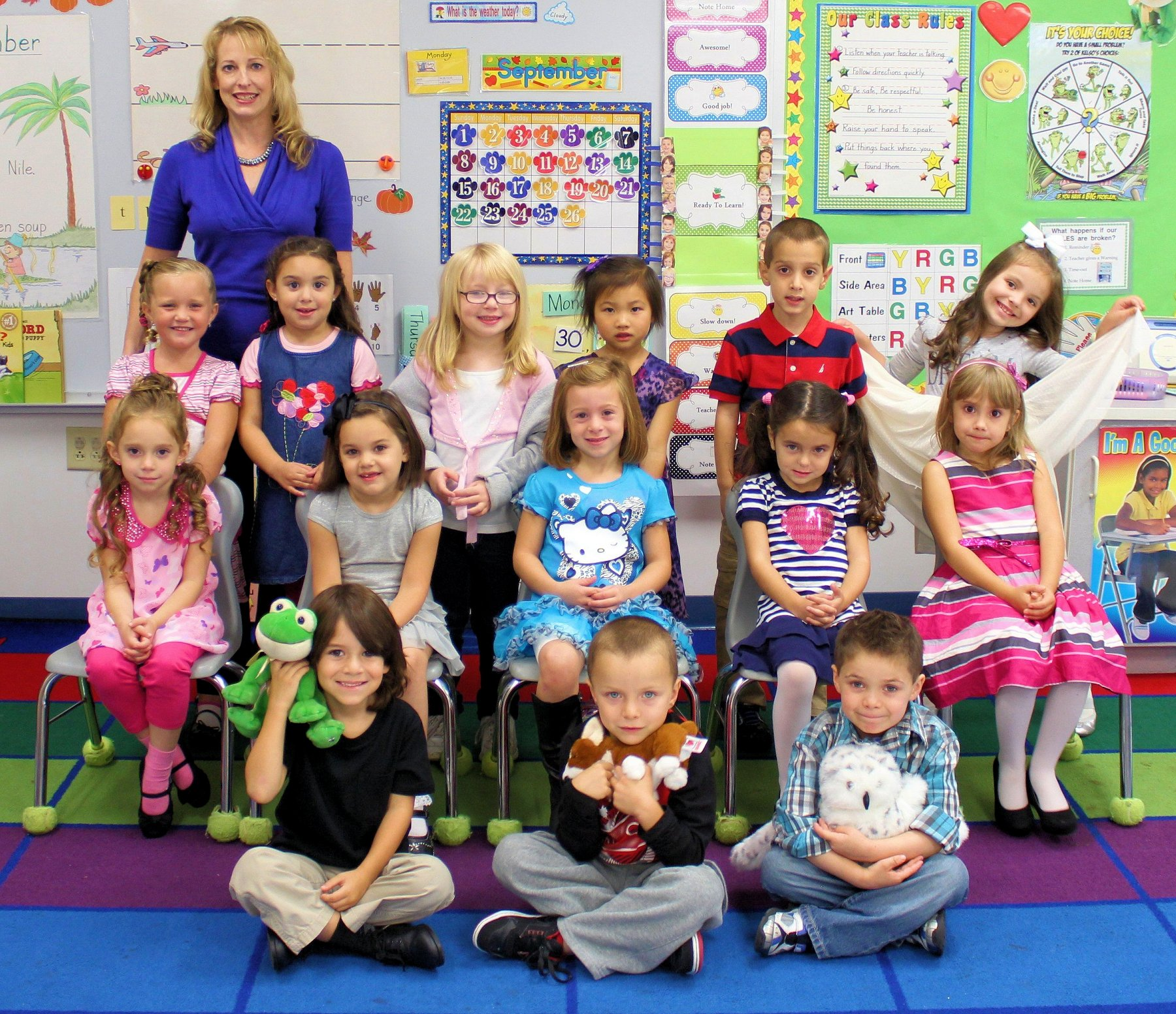 Kindergarten Classroom: Our Photo Album